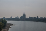 The river Rhine in city of Cologne - 181388937