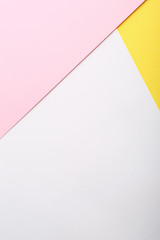 Pink and yellow pastel paper background