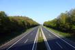 Leinwanddruck Bild - Autobahn A 3 bei Höchstadt