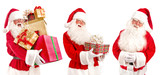Collage of Santa Claus - with Christmas Gifts - 181390737