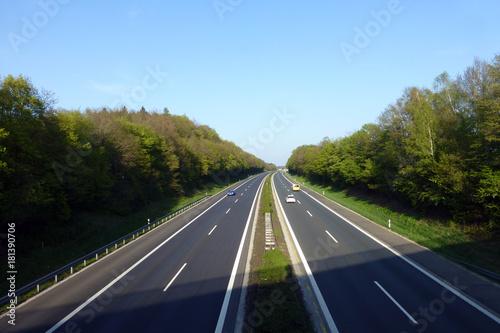 Autobahn A 3 bei Höchstadt - 181390706