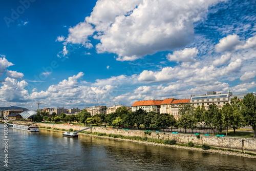 In de dag Boedapest Ungarn, Budapest