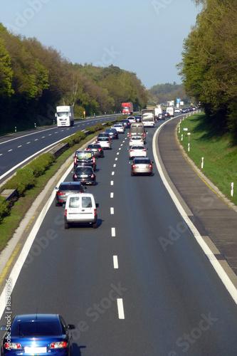 Autobahn A 3 bei Höchstadt - 181391956