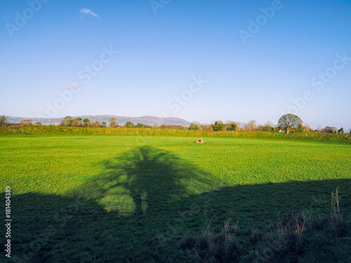 Foto op Canvas Herfst Autumn countryside morning,Northern Ireland