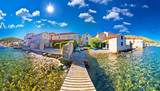 Island town of Vis idyllic waterfront view - 181408730