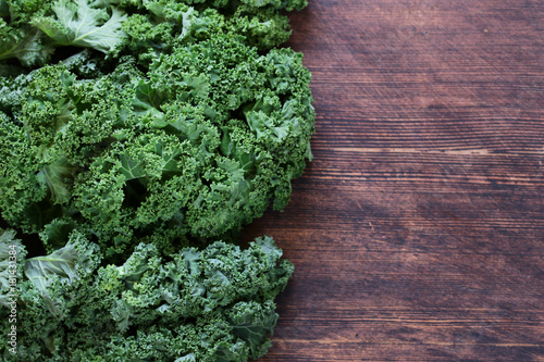 green cabbage kale - healthy food