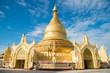 Maha Wizaya pagoda was built on the Dhammarakkhita (Guardian of the Law) Hill which faces the famous Shwedagon Pagoda in Yangon, Myanmar.