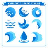 Water Wave Element Symbols