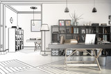 Neugestaltung im Büro (Entwurf)