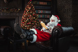 Santa claus portraits and lifestyle - 181448309