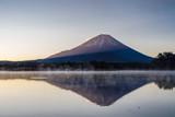 Sunrise at mt. Fuji, Japan - 181456199