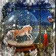 Golden Snow Globe GAllop