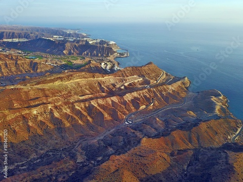 Staande foto Blauwe jeans Gran Canaria