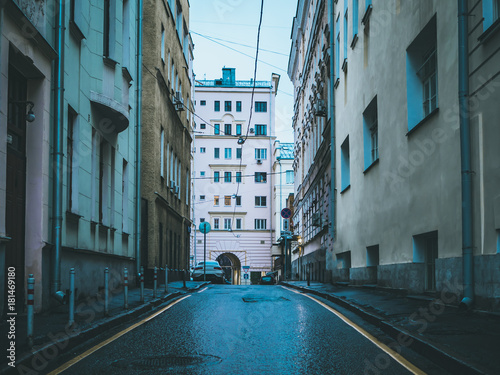 Fototapeta europe streets buildings architecture