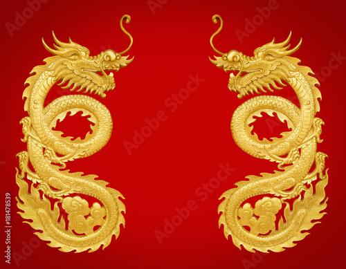 golden craft dragon