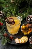 Winter Ginger drink - 181479164