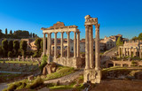 Roman Forum or Forum of Caesar, in Rome, Italy - 181486722