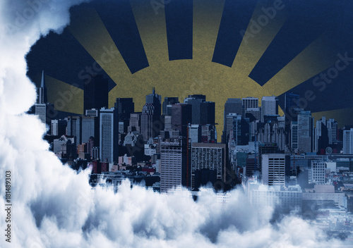 Creative city backdrop - 181489303