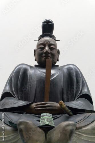 徳川家康像 銅像 Poster