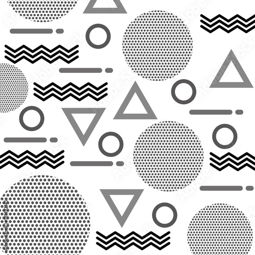 texture of geometric shapes figures pattern abstract