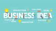 Business idea concept illustration.