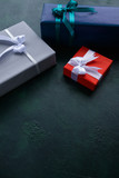 Gender family gifts. Holiday presents. Celebration tradition values concept - 181502735