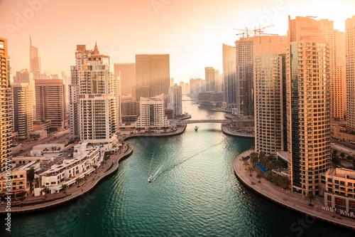 Foto op Canvas Dubai Dubai Marina