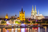 Cologne Cathedral River Rhine - 181509579