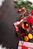 Christmas mulled wine and ingredients - 181513508