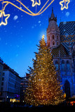 art European Christmas; Christmas Tree and Old city - 181534313