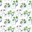 Seamless pattern with spring flowers - 181534515