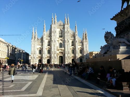 Foto op Aluminium Milan Duomo di Milano
