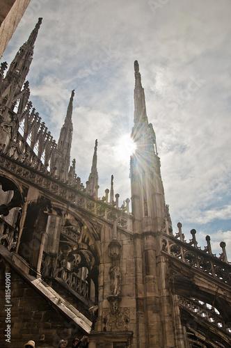Fotobehang Milan Duomo di Milano