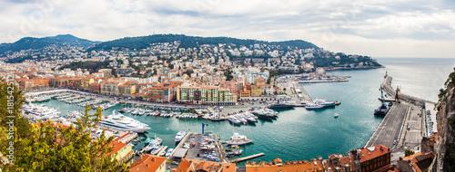 Fotobehang Nice Nizza Hafen wundervoll