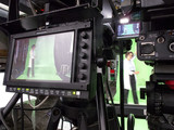 Professional digital video camera. cinematography in the pavilion - 181543567