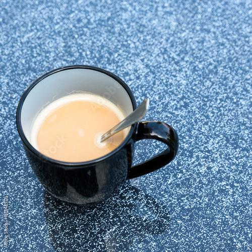 Kaffee auf einem Tisch - Konzept Kaffeepause