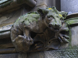 Gargoyle on building