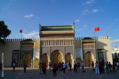 Tuinposter Marokko Palacio en Marruecos