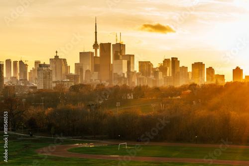 Keuken foto achterwand Toronto Toronto Sunset