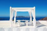 Santorini island leisure life
