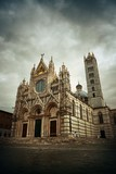 Siena Cathedral in an overcast day - 181572911