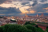 Florence sunset skyline - 181572930