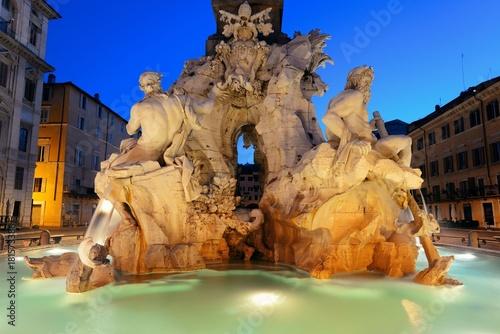 piazza-navona-plac-w-rzymie,-zdjecie,-widok