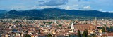 Florence skyline view rooftop panorama - 181573508