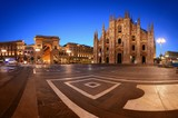 Milan Cathedral Square night - 181573525