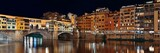 Florence Ponte Vecchio panorama night - 181573532