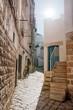 Quadro Characteristic alley in Polignano a mare, Apulia, Italy