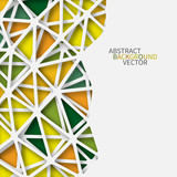 Abstract 3D Paper Graphics