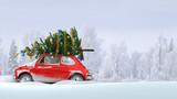 Santa Claus wish us a very Merry Christmas  - 181589311
