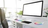 3d studio white screen - 181593190
